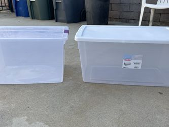 Large Storage Plastic Sterlite Containers for Sale in Long Beach,  CA