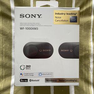 Sony Headphones WF - 1000XM3 for Sale in Houston, TX