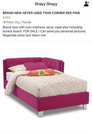 BRAND NEW TWIN BED CORNER BED for Sale in Plant City, FL