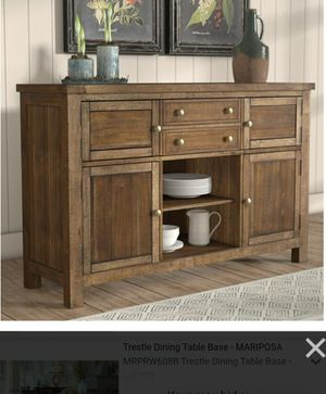 Hillary Dining Room Buffet Table Serial191512472086 for Sale in Alexandria, VA