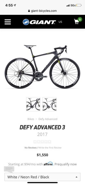 Used 2017 Giant Defy Advanced 3 for Sale in Corona, CA