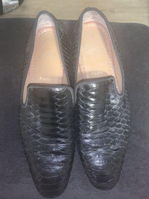 Man Authentic Louis Vuitton shoes size 42 for Sale in Miami, FL