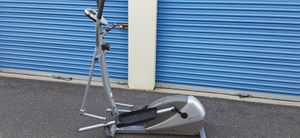 Elliptical exercise unit excellent new condition lightweight sturdy and ready for immediate use monitors your progress pick up or curbside del. avail for Sale in Pennsauken Township, NJ