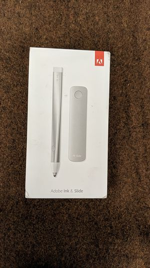 Adobe ink and slide for Sale in Denver, CO