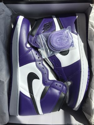 Air Jordan 1 Retro High Court Purple for Sale in Lake Elsinore, CA