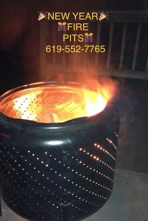 Washer drum fire pits for Sale in San Diego, CA