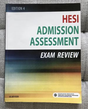 HESI A2 admission assessment Exam review elsevier for Sale in Houston, TX