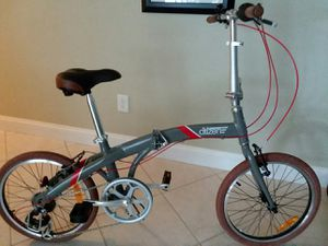 """Seoul Citizen Folding bike with alloy frame , 20"""" 7 speed , max rider weight 240 lb for Sale in Coral Springs, FL"""