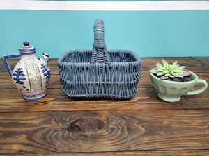 Faux Succulent, Basket, and Pottery for Sale in Hermitage, TN