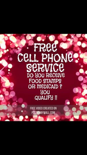 Receiving government benefits ..you may qualify for free phone service!! for Sale in Philadelphia, PA