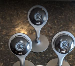 3 Nest cameras for Sale in Sacramento, CA