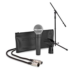 Shure SM58-XLR Package with Microphone Stand for Sale in Los Angeles, CA