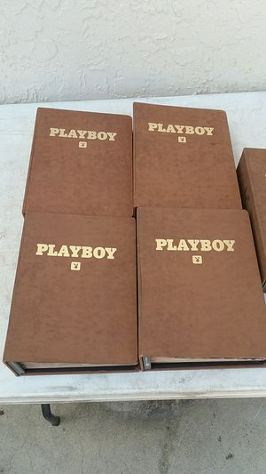 Playboy magazine's in binders 1980's for Sale in Port St. Lucie, FL