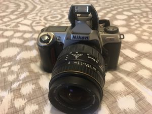 Nikon N65 35mm SLR Camera with 28-90mm Quantaray Lense for Sale in Port Orchard, WA