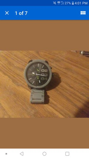 Mens Quartz Black Diesel Watch for Sale in Sulligent, AL