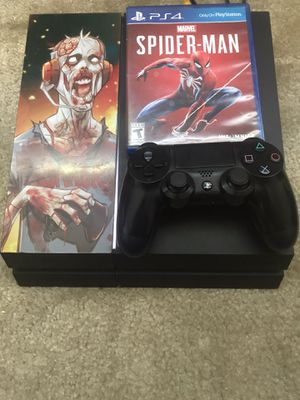 Ps4 500 GB Custom With Controller for Sale in Glendale, AZ