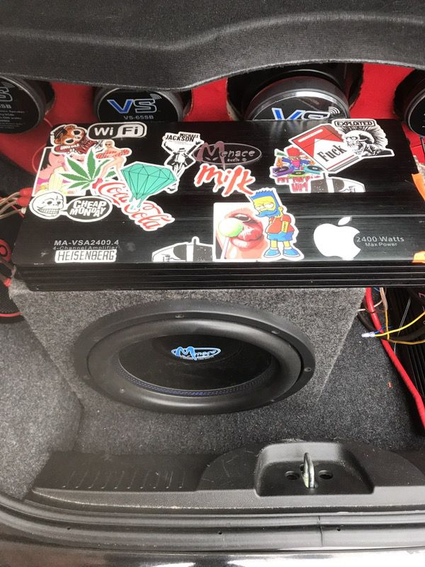 Competition Level Car Audio System