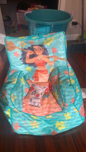 Moana bean bag chair for Sale in Avondale, AZ