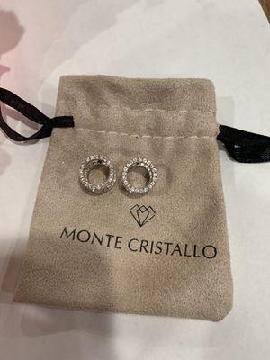 Cubic Zirconia Loop Earrings for Sale in Oakton, VA