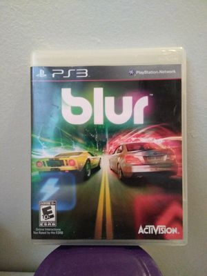 PS3 Blur for Sale in Fullerton, CA