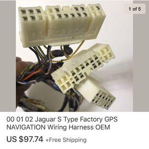 00 01 02 Jaguar S Type Factory GPS NAVIGATION Wiring Harness OEM for Sale in Marysville, WA