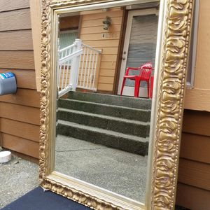 Huge Beautiful Antique Mirror Heavy Was $800 Asking Only $210 Price To Sell Fast for Sale in Everett, WA