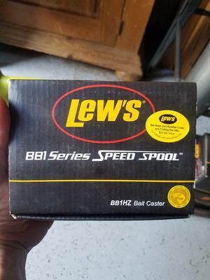 Lew's BB1 Speed Spool Baitcast Reel for Sale in Stockton, CA