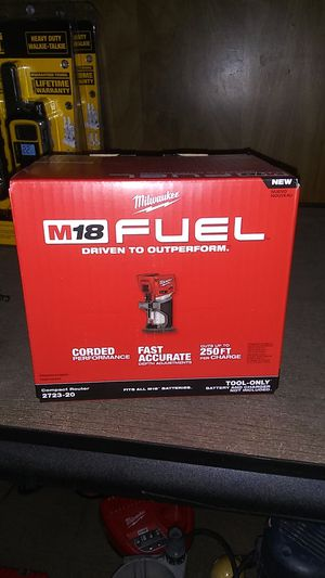 M18 fuel compact router (tool only) for Sale in Hemet, CA