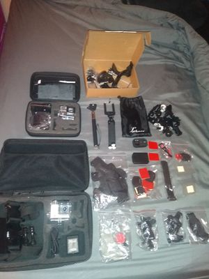 GoPro 3+ With Alot Accessories for Sale in Glendale, AZ