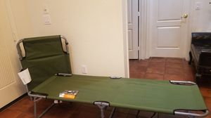 Aluminum camp cot (2) for Sale in Goodyear, AZ
