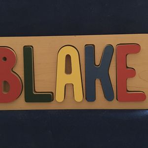 Name Puzzle for Sale in Joliet, IL