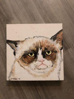 Grumpy cat painting for Sale in Sunrise, FL
