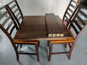 Dining set, Table is New and Un-Built for Sale in Warrington, PA
