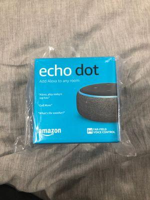 Echo dot 3rd gen brand new for Sale in Plainfield, IL
