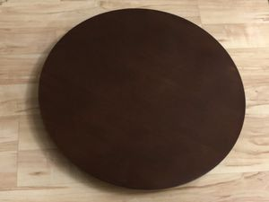 22 Inch Solid Wood Spinning Lazy Susan Kitchen Decor Maple for Sale in Elk Grove, CA
