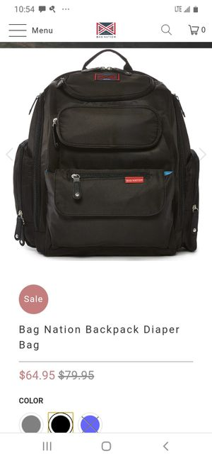Mybagnation Diaper Bag Brand New for Sale in Auburndale, FL