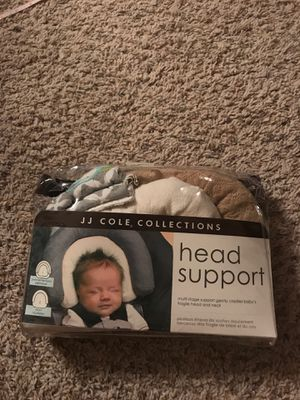 JJ Cole head support / baby car seat head support and strap cover for Sale in El Paso, TX