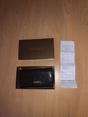 Authentic Brown Leather Women's Gucci Wallet for Sale in Los Angeles, CA
