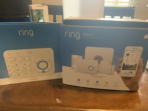 Ring security system with extra window sensors and a extra key pad for Sale in Santa Fe Springs, CA