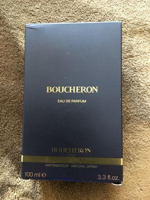 PERFUME BOUCHERON. SIZE 3.3 FL . Oz $50 Dlls NUEVO ORIGINAL BOUCHERON for Sale in Fontana, CA