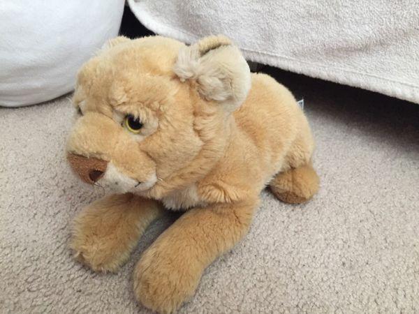 Cub Lion. Plush Toy. Value $40