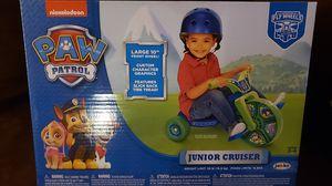 Nickelodeon Paw Patrop Jr. Cruiser for Sale in Millville, NJ