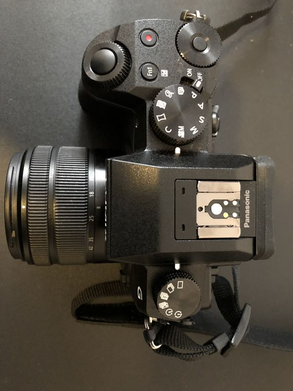 PANASONIC LUMIX G7 4K camera w/ charger, RODE video mic pro, JOBY Tripod, and a RUGGED 128gb memory card