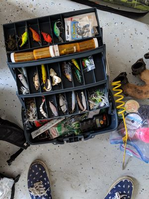 Fishing Tackle gear. for Sale in Albuquerque, NM