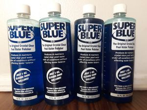 Super Blue Pool Water Clear Polishee for Sale in Haines City, FL