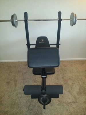 Weight bench with weights for Sale in Deerfield Beach, FL