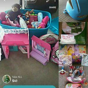 kids girl toys all 40 for Sale in Shelbyville, TN