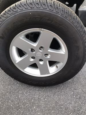 2014 Jeep Wrangler wheels and Tires for Sale in Annville, PA