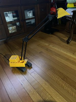 Excavator desk lamp for Sale in Boonton, NJ