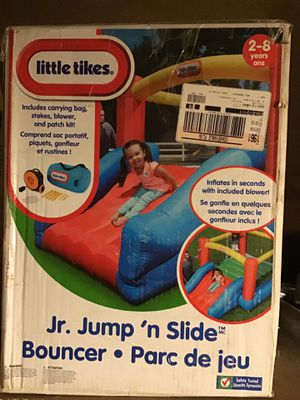 Little tikes jr. jump and slide bouncer for Sale in Riverside, CA